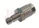 804 - rychlospojka zástrčka s vývodem na trubičku - DN 2,7mm