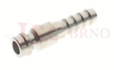215 - rychlospojka zástrčka s vývodem pro hadice - DN 5,0mm