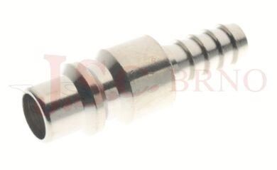 235 - rychlospojka zástrčka s vývodem pro hadice - DN 9,0mm