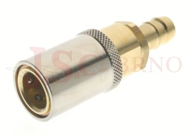 445 - rychlospojka zásuvka s vývodem pro hadice - DN 9,0mm
