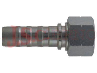 D-DKOR bezořezová konc. s převlečnou maticí a palcovým závitem, kužel 60°