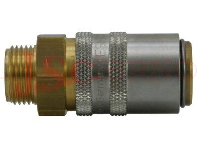 """ESH 1/4""""AAB zásuvka s ventilem s vnějším závitem 1/4"""", profil DN 9"""