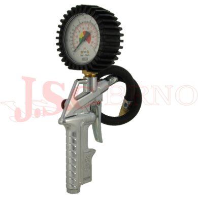 Pistole 31 na hustění pneumatik vč. zástrčky, manometr DN63, max. tlak 12bar