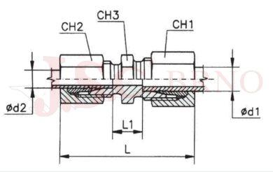 GS 42/35L (M52x2 - M45x2)