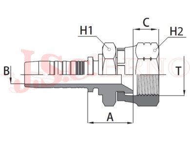 JIS-M 12 22x1,5