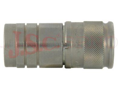 PLT4.xxxx.112 zásuvka bezúkapová s vnitřním palcovým závitem