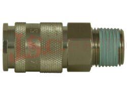 27KA AK... zásuvka, vnější kuželový závit, profil EU DN 10,4mm