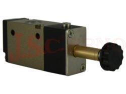 3V*10..... elektromagnetický ventil 3/2 NC jednocívkový