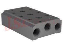 4Vx00M-..... základová deska pro elektromagnetický ventil