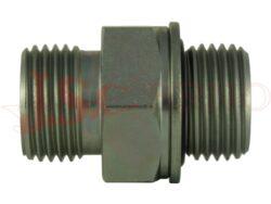 A202123-..... přípojka přímá (GES) se závity BSPP / BSPP (kovogumové těsnění)