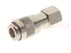 102 - rychlospojka zásuvka s vnitřním závitem - DN 2,5mm
