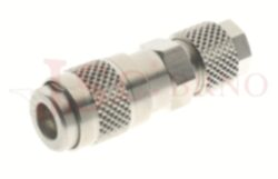 104 - rychlospojka zásuvka s vývodem na trubičku - DN 2,5mm