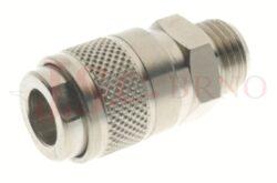 111 - rychlospojka zásuvka s vnějším závitem - DN 5,0mm