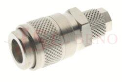 114 - rychlospojka zásuvka s vývodem na trubičku - DN 5,0mm