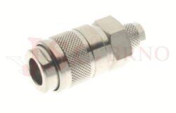 124 - rychlospojka zásuvka s vývodem na trubičku - DN 5,5mm