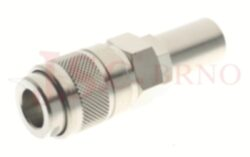 126 - rychlospojka zásuvka s vývodem pro hadice - DN 5,5mm