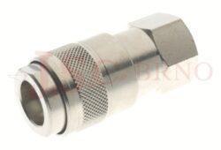 132 - rychlospojka zásuvka s vnitřním závitem - DN 9,0mm