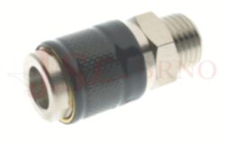 181 - rychlospojka zásuvka s vnějším závitem - DN 5,0mm