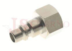 232 - rychlospojka zástrčka s vnitřním závitem - DN 9,0mm