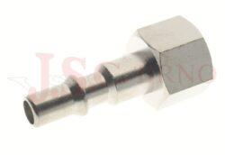 242 - rychlospojka zástrčka s vnitřním závitem - DN 5,5mm