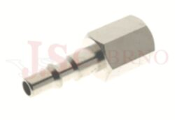 248 - rychlospojka zástrčka s vnitřním závitem - pozvolný odfuk - DN 5,5mm