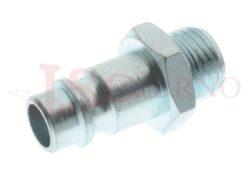 261AC - rychlospojka zástrčka ocelová s vnějším závitem - DN 7,5mm