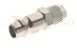 264 - rychlospojka zástrčka s vývodem na trubičku - DN 7,5mm