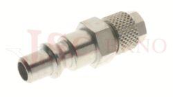 274 - rychlospojka zástrčka s vývodem na trubičku - DN 5,5mm