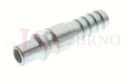 275AC - rychlospojka zástrčka ocelová s vývodem pro hadice - DN 5,5mm
