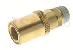 431SW - rychlospojka zásuvka bez uzávěru s vnějším závitem - DN 6,0mm
