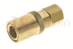 432SW - rychlospojka zásuvka bez uzávěru s vnitřním závitem - DN 6,0mm