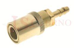 435SW - rychlospojka zásuvka bez uzávěru s vývodem pro hadice - DN 6,0mm