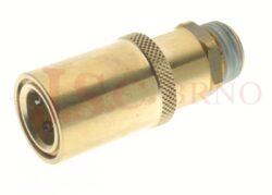 441SW - rychlospojka zásuvka bez uzávěru s vnějším závitem - DN 9,0mm