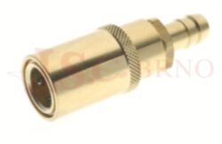 445SW - rychlospojka zásuvka bez uzávěru s vývodem pro hadice - DN 9,0mm