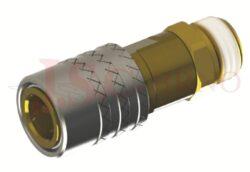 471 - rychlospojka zásuvka s vnějším závitem - DN 9,0mm