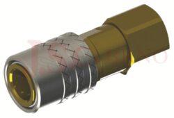 472 - rychlospojka zásuvka s vnitřním závitem - DN 9,0mm