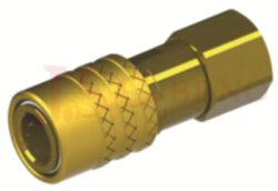 472SW - rychlospojka zásuvka bez uzávěru s vnitřním závitem - DN 9,0mm