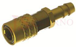 475SW - rychlospojka zásuvka bez uzávěru s vývodem pro hadice - DN 9,0mm