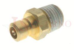 534 - rychlospojka zástrčka s uzávěrem a vnějším kuželovým závitem - DN 6,0mm
