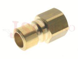 542 - rychlospojka zástrčka s vnitřním závitem - DN 9,0mm