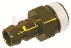 561 - rychlospojka zástrčka s vnějším závitem - DN 6,0mm