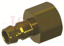 572 - rychlospojka zástrčka s vnitřním závitem - DN 9,0mm