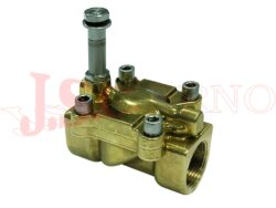 04F..... 2/2 NC nepřímo řízený solenoidový ventil s ručním ovládáním