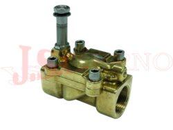 04F..... 2/2 NC REG nepřímo řízený solenoidový ventil s regulací a ruč.ovládáním