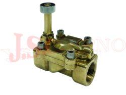 04F..... 2/2 NO REG nepřímo řízený solenoidový ventil s regulací a ruč.ovládáním