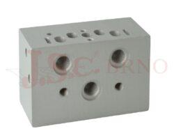 05V B1... přední modulární deska ventilů VDMA2 - 18mm
