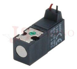 07V 13 3... mini solenoidový 10mm ventil 3/2 s kabeláží 300mm