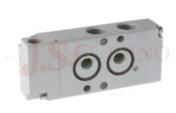 08V P0 4... pneumatický ventil 4/2 - monostabilní s pružinou