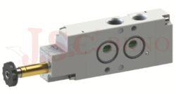 08V S0 4... - elektromagnetický ventil 4/2 jednocívkový -monostabilní s pružinou