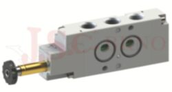08V S0 5... - elektromagnetický ventil 5/2 jednocívkový -monostabilní s pružinou